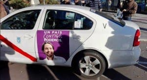 TAXI FOR PAOLO: Iglesias's campaign driving ahead