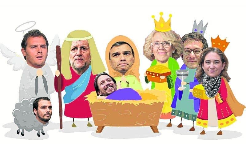FELIZ NAVIDAD: Birth of Spain's new politics