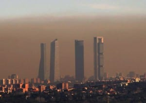 Pollution in Madrid