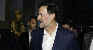RAJOY: PM bruised after punch