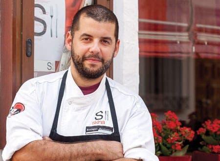 Restaurante Skina Jaume Puigdengolas Skina Chef