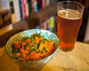 Curry and cerveza