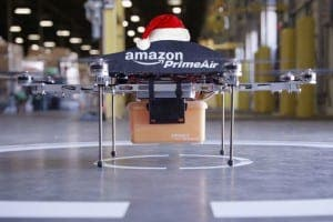 DRONES: The jingle of sleigh bells won't be drowned out by the whir of robot rotor blades this festive season