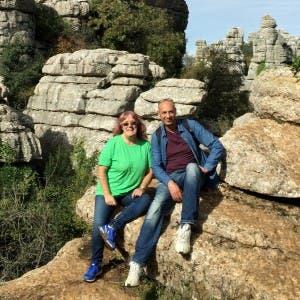 AT EL TORCAL: Tamara and Yousef