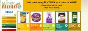 SABORES DEL MUNDO: Online food shopping to delight all tastes