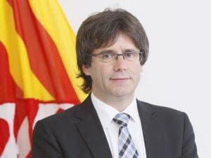 CARLES PUIGDEMONT: Bids to gain independence from Spain with 18 months