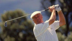 LEGEND: Christy O'Connor helped Europe retain 1989 Ryder Cup