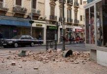 Earthquake spain