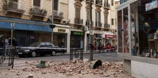 Earthquake spain