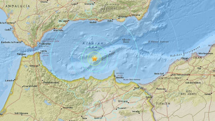 EARTHQUAKE: Southern Spain rocked