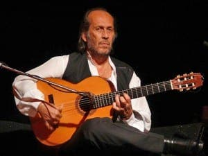 Paco de Lucia who died in 2014