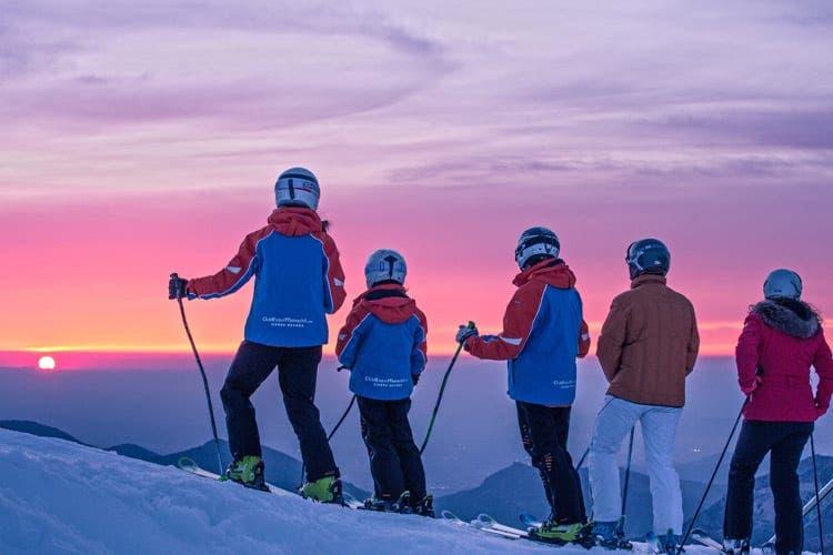 puesta del sol sierra nevada
