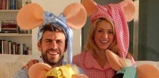 shakira pique pyjamas