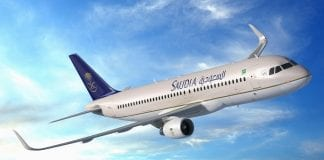 A Sharklet Saudi Arabian Airlines   e