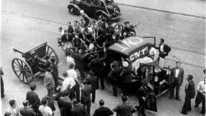 MILITIA: Anarchist column during Civill War