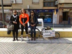 Antonio Moreno's En Ruta Por Los Animales campaign