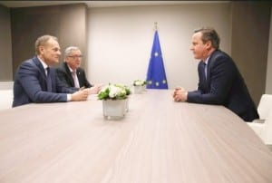 STALEMATE: No EU deal for Cameron yet