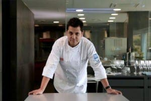 Michelin-starred Diego Gallegos