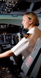 FTE Pilot girl at Sim