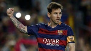 WINNER: Messi nets elusive prize