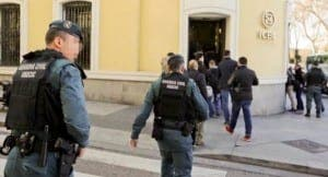 FRAUD: Guardia Civil raid Chinese bank HQ in money-laundering probe