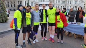 Run for Syria British embassy