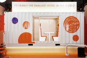 Worlds smallest hotel