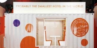 Worlds smallest hotel e