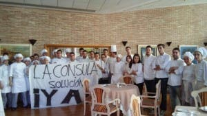 HEATING UP: La Consula students and workers