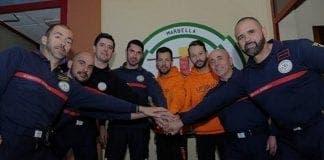 marbella firemen