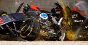 TERRIFYING: Alonso 'thankful' to be alive