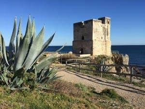 FORTRESS: Overlooking Casares beach