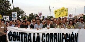 Corruption Spain