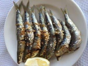 Espetó sardines