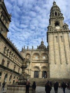 IMPRESSIVE: Cathedral dominates Santiango skyline