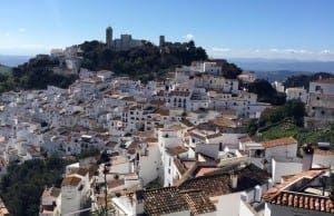 CASARES: White village