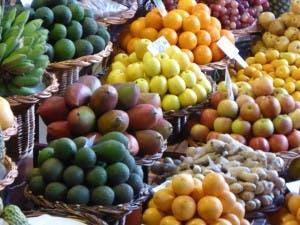FUNCHAL: Fruit market