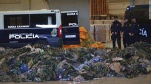 ISIS: Uniforms seized in Algeciras