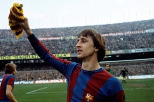 ICON: Cruyff was revered by Camp Nou faithful