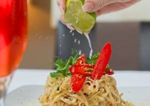PAD THAI: One of La Sala's new dishes