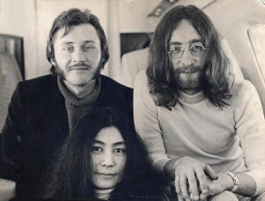 JET SET: David Nutter on the private plane to Paris with Lennon and Ono
