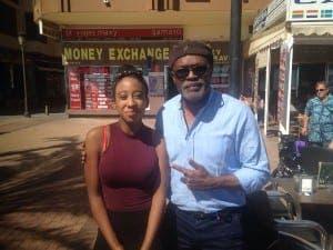 PULP FICTION?: Jackson lookalike stuns Costa del Sol