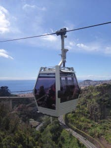 HITTING THE HEIGHTS: Cable car to Monte