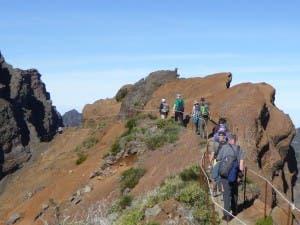SOARING: The path towards Pico Ruivo