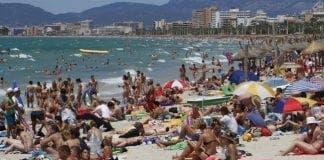 Tourists Spain e