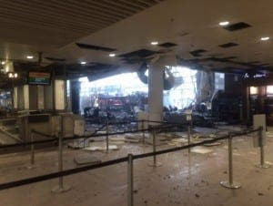 CARNAGE: Many killed in Zaventem airport blast