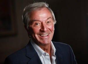 TV presenter Des O'Connor