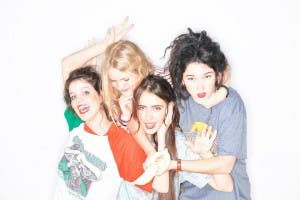 GIRL POWER: Hinds rocked SXSW