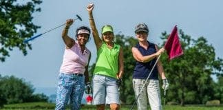 ladies golf e