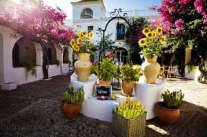 AUTHENTIC CHARM: Nuptials at Hacienda San Rafael in Jerez. Photo courtesy of Anna Gazda
